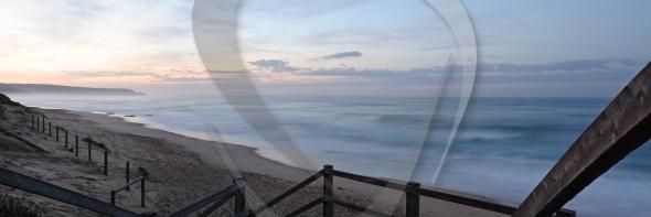 Waves at long exposure