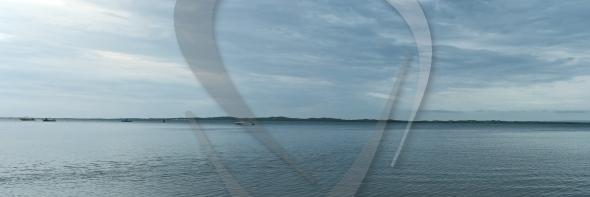 Shallow inlet panorama