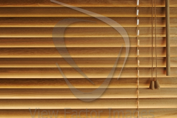 Wooden blinds background