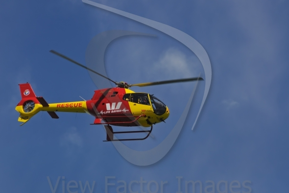 Life saver helicopter