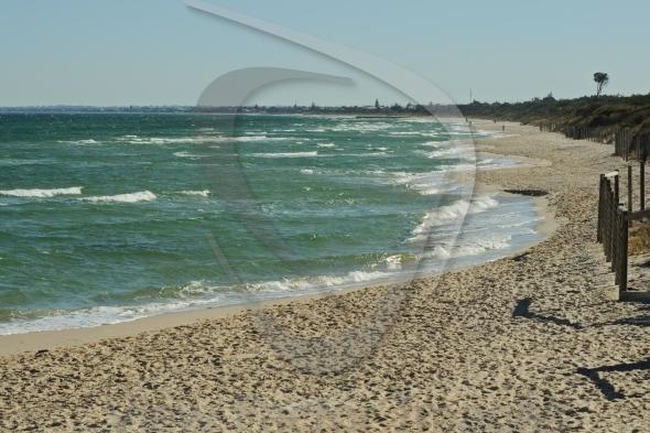 Sandy beach in Victoria