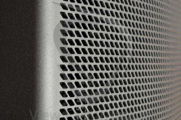 Speaker mesh closeup