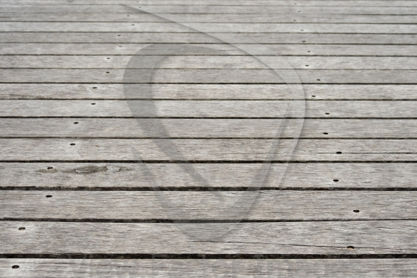 Wooden footpath, background