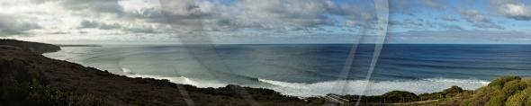 Popular surfing break