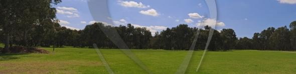 Park area panorama