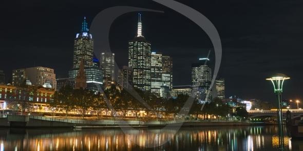 Melbourne CBD and Yarra