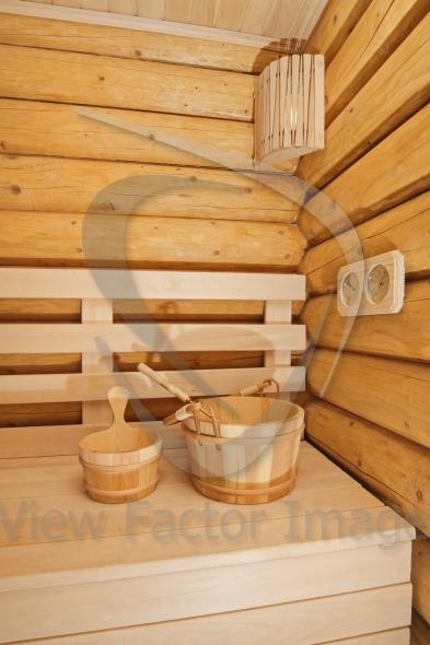 Wooden sauna accessory