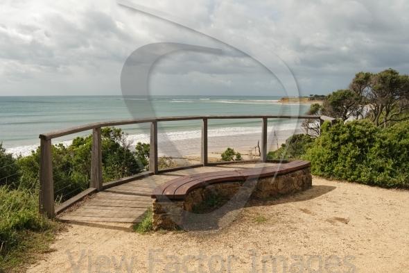 Bench at Zeally Bay