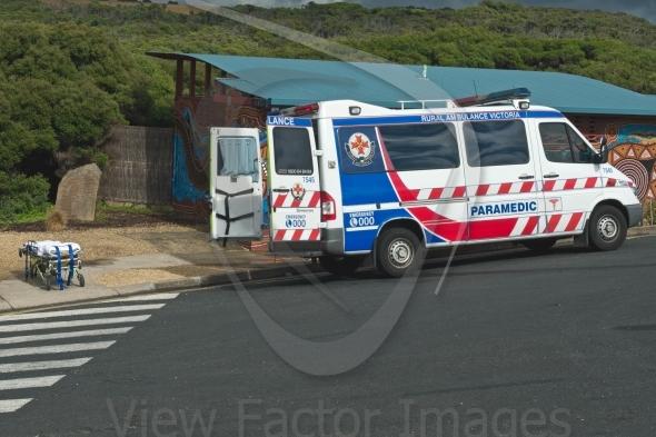 Paramedic car prepared