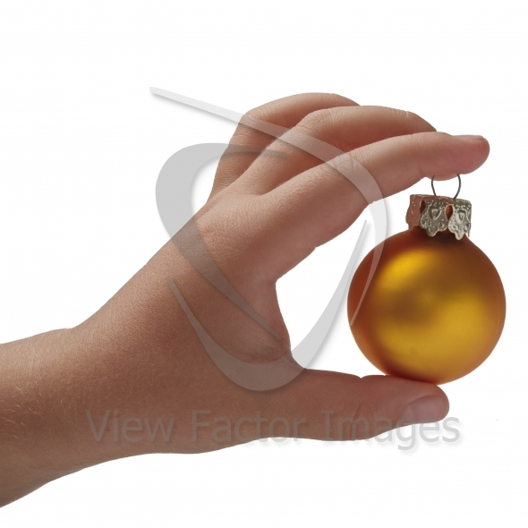 OK with Christmas bauble