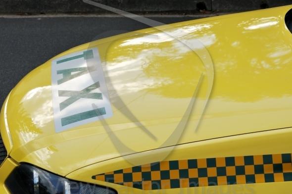 Melbourne taxi hood