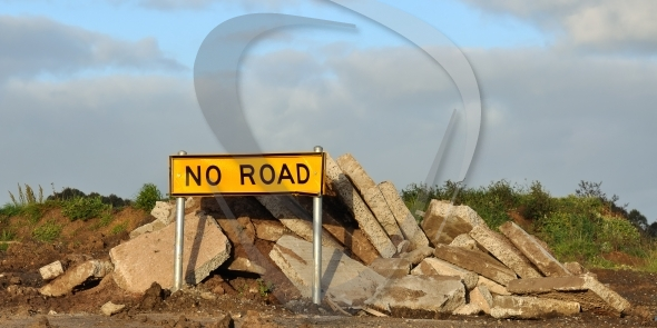No road sign